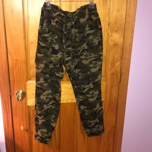 Jogger stretchy army pants